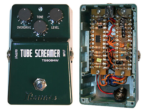 IBANEZ - TUBE SCREAMER HW  - photo n 1