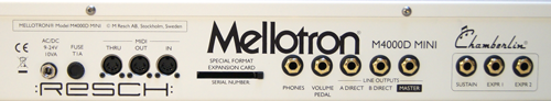 MELLOTRON - M4000D-mini - photo n 2