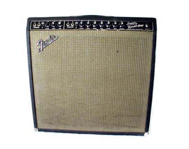 FENDER - '65 SUPER REVERB BLACK FACE VINTAGE  - photo n 1