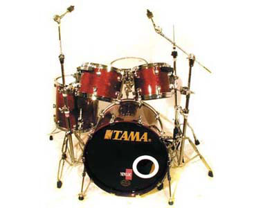 TAMA  - STARCLASSIC MAPLE RED WALNUT  - photo n 1
