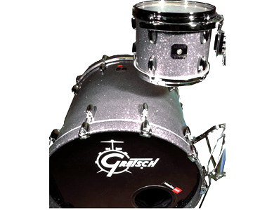 GRETSCH - RENOWN MAPLE SILVER SLATE  - photo n 1