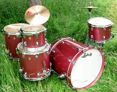 LUDWIG  - LEGACY CHAMPAGNE SPARKLE  - photo n 1