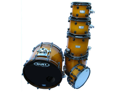 MAPEX - SATURN SIENNA BURST - photo n 1