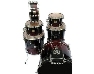 YAMAHA  - ABSOLUTE MAPLE CHERRY BLACK FADE - photo n 1