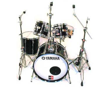 YAMAHA  - RECORDING CUSTOM SOLID BLACK VINTAGE - photo n 1
