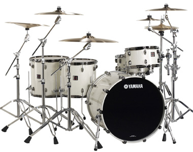 YAMAHA  - OAK CUSTOM X WHITE SPARKLE - photo n 1