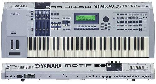 Newloc - Workstation - YAMAHA - MOTIF ES6