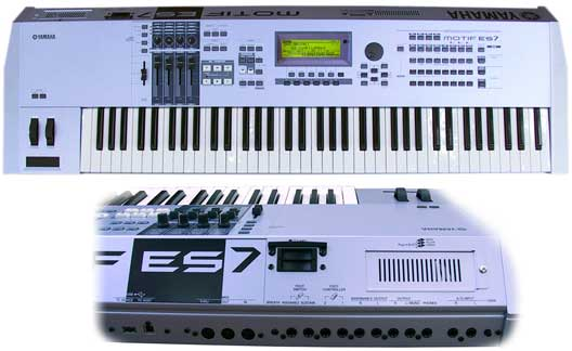 YAMAHA  - MOTIF ES7 - photo n 1