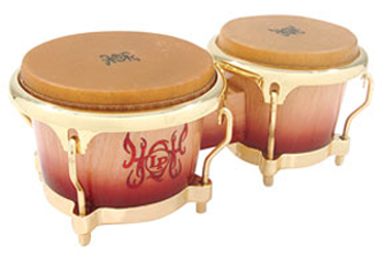 LP - BONGOS 40TH ANNIVERSARY  - photo n 1
