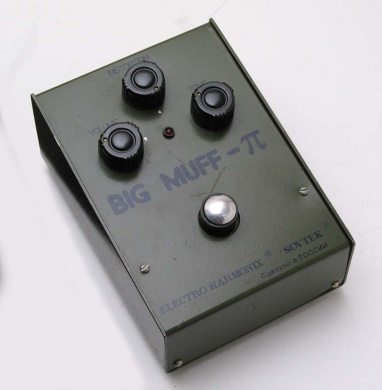 ELECTRO HARMONIX  - BIG MUFF GREEN - photo n 1