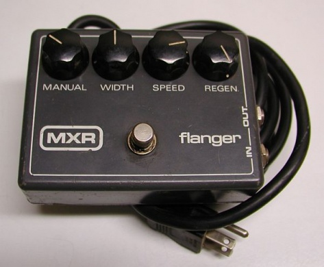 MXR - FLANGER VINTAGE - photo n 1
