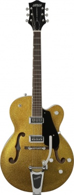 GRETSCH  - HOLLOW BODY GOLD SPARKLE /W BIGSBY  - photo n 1