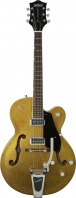 GRETSCH  - HOLLOW BODY GOLD SPARKLE /W BIGSBY