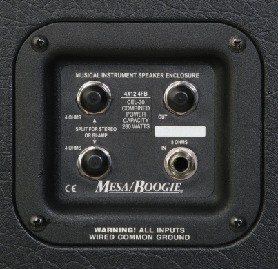 MESA BOOGIE  - VINTAGE CELESTION 412 STRAIGHT - photo n 2