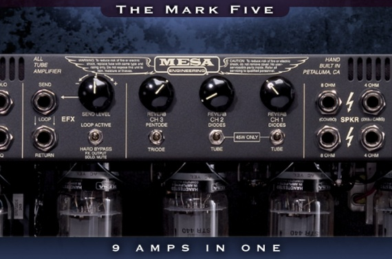 MESA BOOGIE - MESA BOOGIE MK FIVE (MKV) - photo n 2