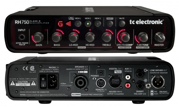 TC ELECTRONIC  - RH750 - photo n 1