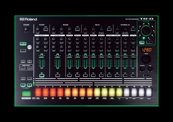 ROLAND  - TR-8 RYTHM PERFORMER  - photo n 1