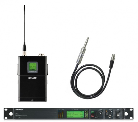 SHURE - UR4D HF VOIX/INSTRUMENT - photo n 1