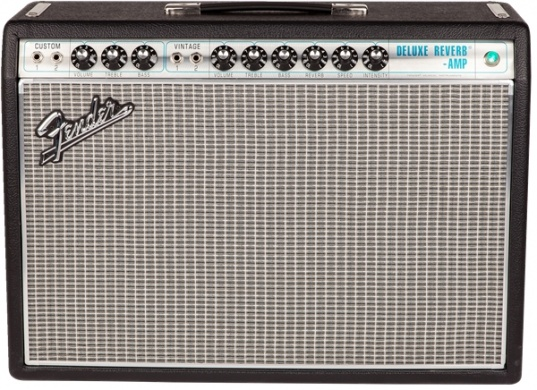 FENDER - '68 CUSTOM DELUXE REVERB - photo n 1