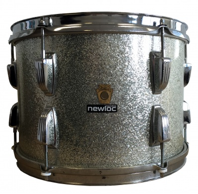 LUDWIG  - VINTAGE '66 SILVER SPARKLE - photo n 2