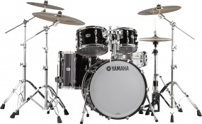 YAMAHA  - NEW RECORDING CUSTOM SOLID BLACK