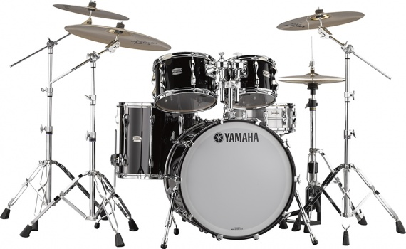 YAMAHA  - NEW RECORDING CUSTOM SOLID BLACK  - photo n 1