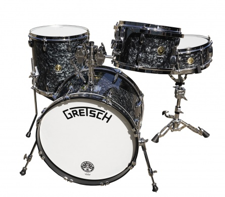 GRETSCH - BROADKASTER DEEP BLACK MARINE PEARL  - photo n 1