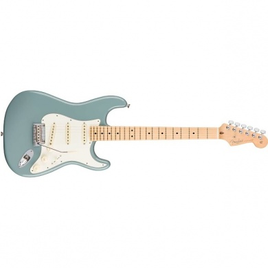 FENDER  - STRATOCASTER AMERICAN PRO SONIC GRAY  - photo n 2
