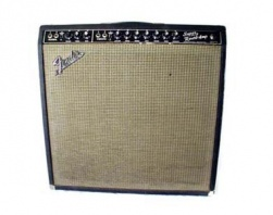 FENDER - '65 SUPER REVERB BLACK FACE VINTAGE