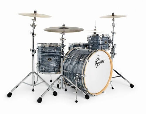GRETSCH - RENOWN MAPLE SILVER OYSTER PEARL  - photo n 1