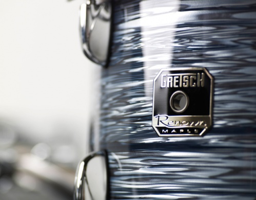 GRETSCH - RENOWN MAPLE SILVER OYSTER PEARL  - photo n 2