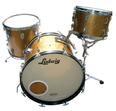 LUDWIG - VINTAGE '63 CHAMPAGNE SPARKLE  - photo n 1