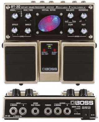 BOSS - RT20 LESLIE FX - photo n 2
