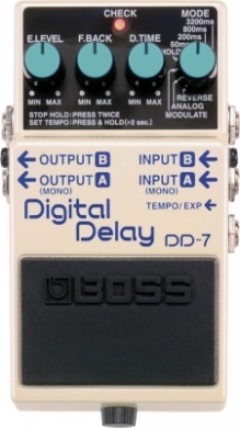 BOSS - DD7 DIGITAL DELAY  - photo n 1