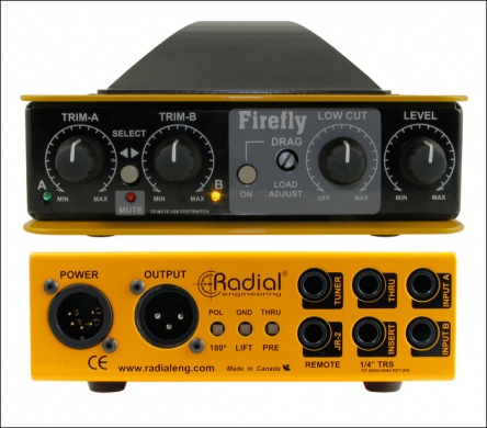 RADIAL  - FIREFLY/ D.I Box à lampe/ tube DI - photo n 2