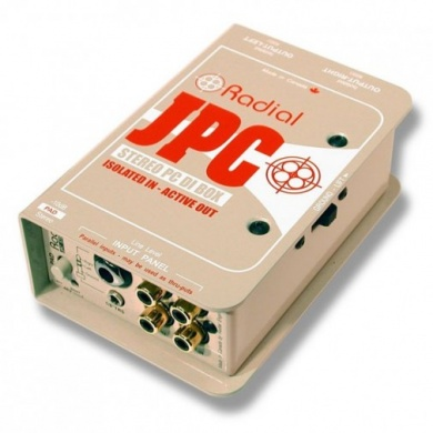 RADIAL  -  JPC/ D.I Box pour PC - photo n 1