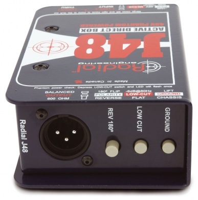 RADIAL - J48 / D.I Box Active - photo n 1