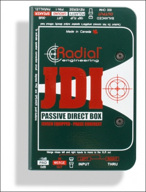 RADIAL - JDI / D.I Box Passive - photo n 1