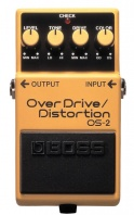 BOSS - OS2 OVERDRIVE DISTORTION