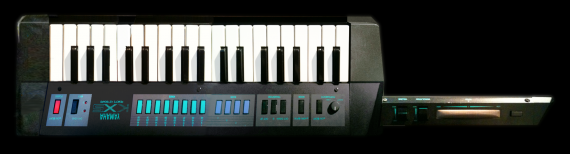 YAMAHA  - KX5 KEYTAR - photo n 2