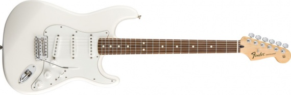 FENDER - STRATOCASTER WHITE - photo n 1