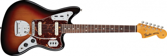 FENDER - JAGUAR SUNBURST - photo n 1