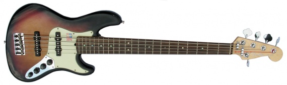 FENDER  - JAZZ BASS 5 ACTIVE  - photo n 1