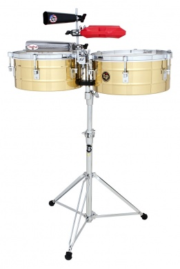LP  - TIMBALES TITO PUENTE BRASS 14&15 - photo n 1