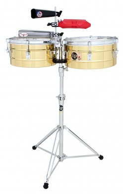 LP  - TIMBALES TITO PUENTE BRASS 13&14 - photo n 1