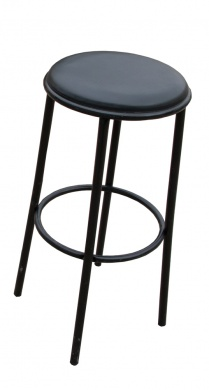 TABOURET - DE BAR NOIR  - photo n 1